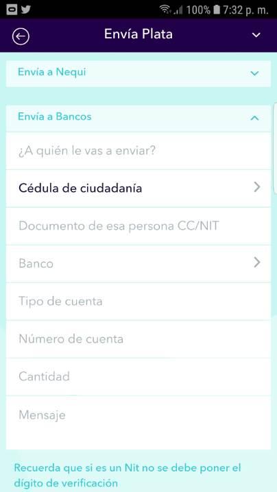 Enviar dinero paypal a cuenta banco colombia